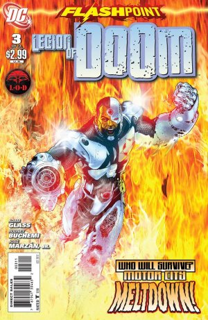Flashpoint - The Legion of Doom # 3 Issues