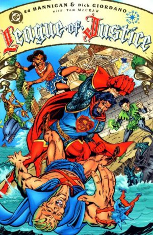 League of Justice # 2 Issues
