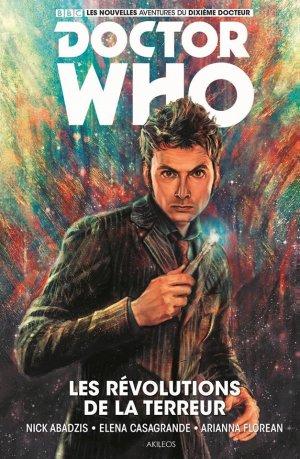 Doctor Who Comics - Dixième Docteur édition TPB hardcover (cartonnée)