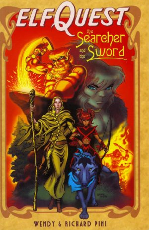 Elfquest - The Searcher and the Sword édition TPB softcover (souple)