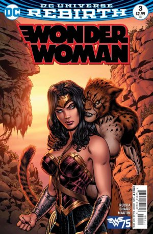 Wonder Woman # 3 Issues V5 - Rebirth (2016 - en cours)