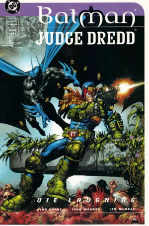 Batman / Judge Dredd - Die Laughing # 2 Issues
