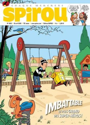 Le journal de Spirou # 4018 Simple