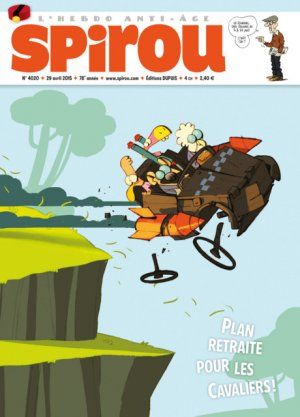 Le journal de Spirou # 4020 Simple
