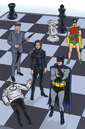 Batman '66 meets Steed and Mrs. Peel édition Issues
