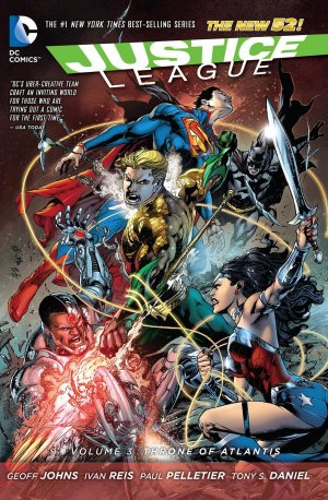 Justice League 3 - Throne of Atlantis