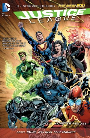 Justice League # 5 TPB hardcover (cartonnée) - Issues V2