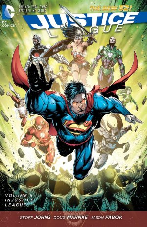Justice League # 6 TPB hardcover (cartonnée) - Issues V2