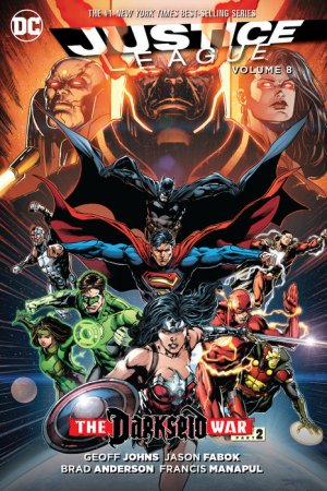 Justice League # 8 TPB hardcover (cartonnée) - Issues V2