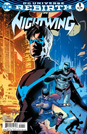Nightwing # 1 Issues V4 (2016 - Ongoing) - Rebirth