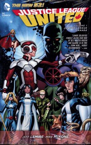 Justice League United édition TPB hardcover (cartonnée)