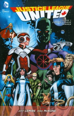 Justice League United # 1 TPB softcover (souple)