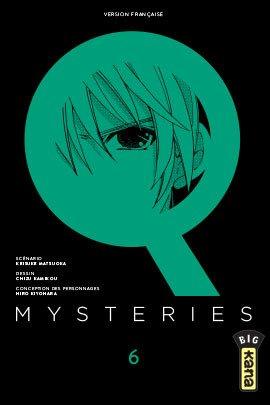 couverture, jaquette Q mysteries 6  (kana) Manga