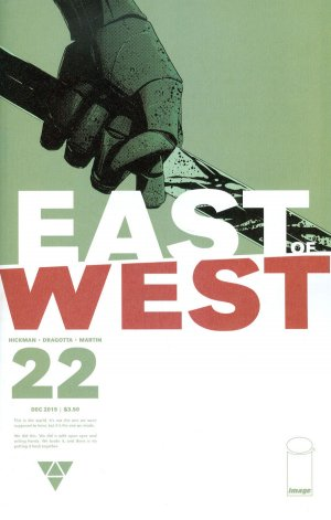 East of West # 22 Issues (2013 - Ongoing)