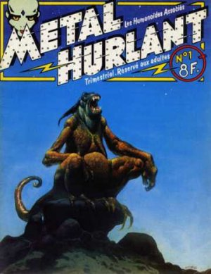 Métal Hurlant édition Simple