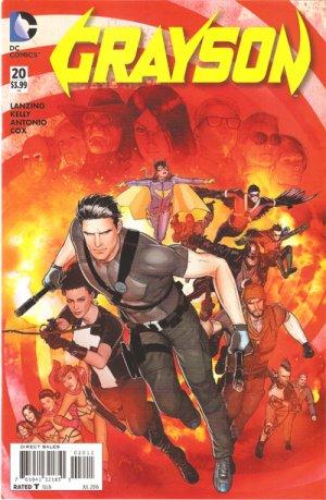 Grayson # 20 Issues V1 (2014 - 2016)