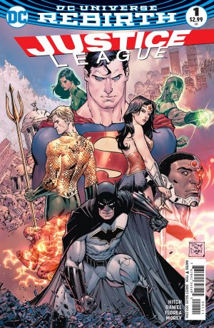Justice League édition Issues V3 - Rebirth (2016 - 2018)