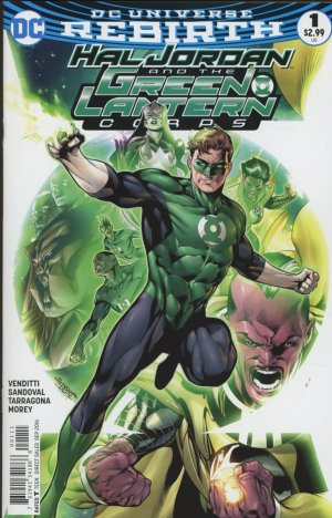 Green Lantern Rebirth édition Issues (2016-2018)