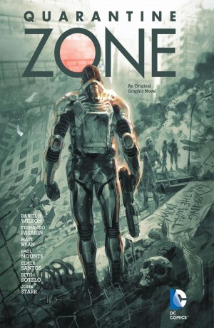 Quarantine Zone édition TPB hardcover (cartonnée)