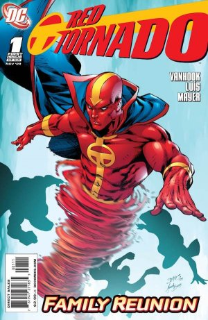 Red Tornado édition Issues V2 (2009 - 2010)