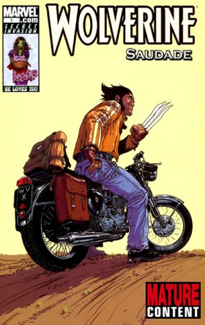 Wolverine - Saudade édition Issues