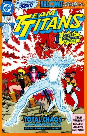 Team Titans édition Issues (1992 - 1994)