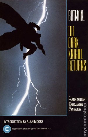 Batman - The Dark Knight Returns édition TPB softcover (souple) (1986)