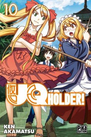 couverture, jaquette UQ Holder! 10  (Pika) Manga