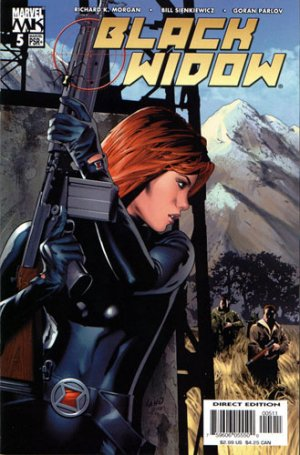 Black Widow # 5 Issues V3 (2004 - 2005)