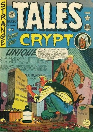 Tales From the Crypt édition Issues (1950 - 1955)