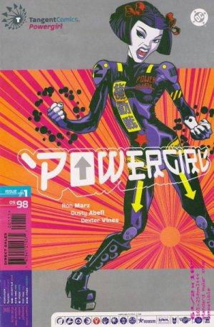 Tangent Comics / Powergirl édition Issues
