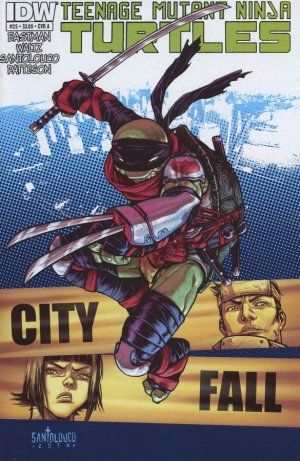 Les Tortues Ninja 25 - City Fall Part Four