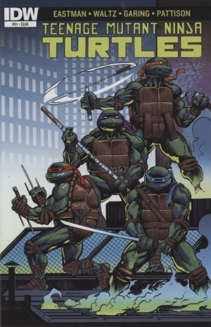 Les Tortues Ninja # 51 Issues V5 (2011 - ongoing)