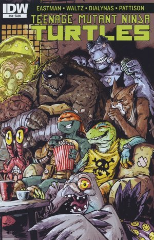 Les Tortues Ninja # 53 Issues V5 (2011 - ongoing)