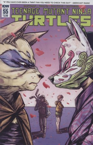 Les Tortues Ninja # 55 Issues V5 (2011 - ongoing)