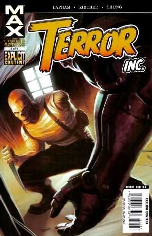 Terror Inc. # 5 Issues (2007 - 2008)