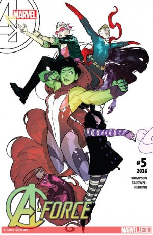 A-Force # 5 Issues V2 (2016)