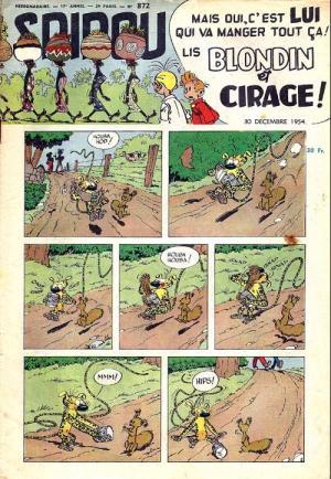 Album Spirou (recueil) # 872