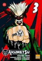 couverture, jaquette Akumetsu 3  (Taifu Comics)