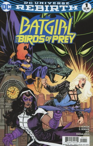 Batgirl and the Birds of Prey # 1 Issues V1 (2016 - 2018)