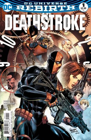 Deathstroke édition Issues V4 (2016 - 2019) - Rebirth