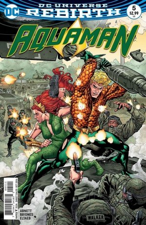 Aquaman # 5 Issues V8 (2016 - Ongoing) - Rebirth