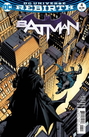 Batman Rebirth # 4 Issues V3 (2016 - Ongoing) - Rebirth