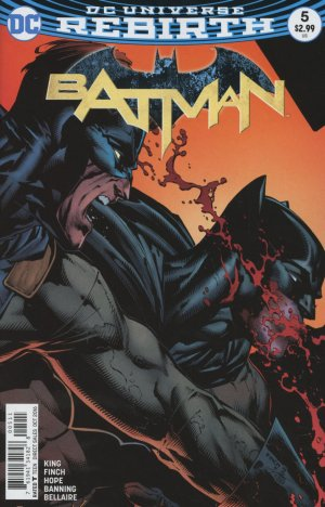 Batman Rebirth # 5 Issues V3 (2016 - Ongoing) - Rebirth