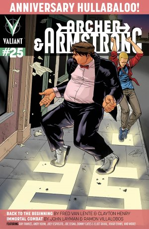 Archer and Armstrong # 25 Issues V2 (2012 - 2014)