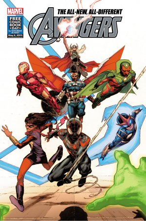 Free Comic Book Day 2015 - All-new All-different Avengers / Uncanny Inhumans édition Issues