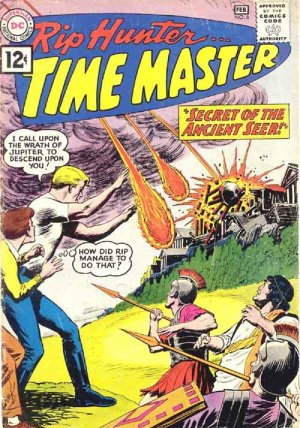 Rip Hunter... Time Master # 6 Issues