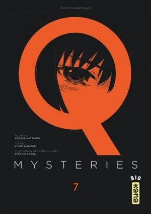 couverture, jaquette Q mysteries 7  (kana) Manga