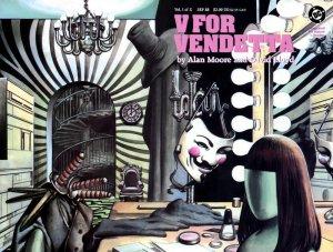 V pour Vendetta édition Issues