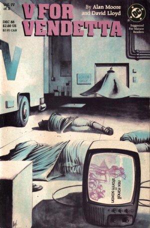 V pour Vendetta # 4 Issues